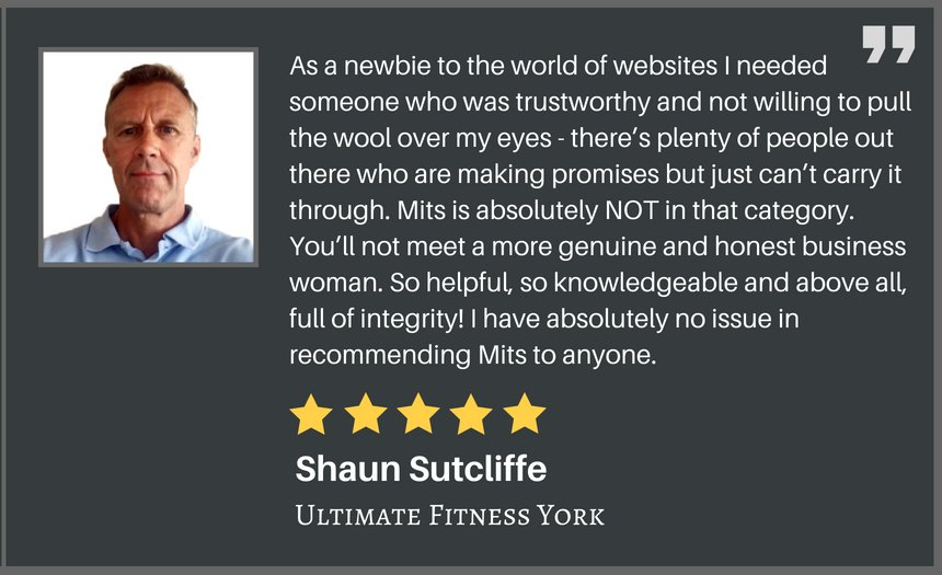 5 star review Ultimate Fitness York