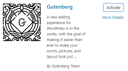 The Gutenberg Plugin