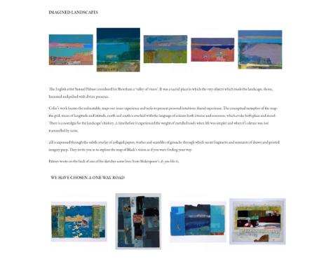 Screenshot Seek Art School E-Commerce Website