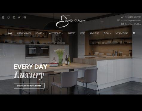 Estelle Doors Website Screenshot