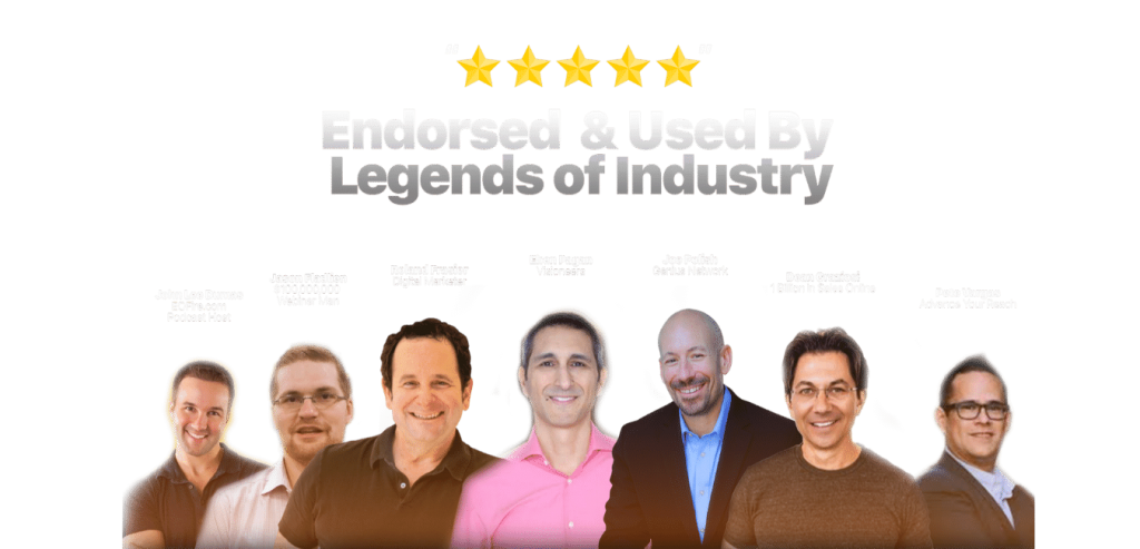 Personally Endorsed by Industry Experts