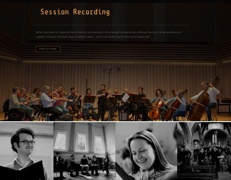 DavidRose Website Screenshot