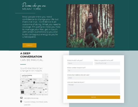 Level Seven Website Screenshot