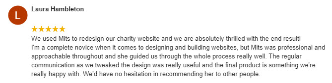Restore 5 Star Google Review
