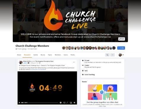 Church Challenge FB Group