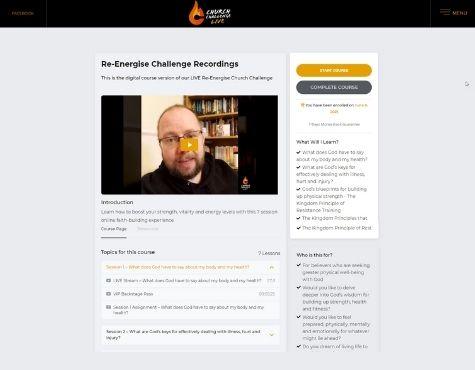 Church Challenge LIVE