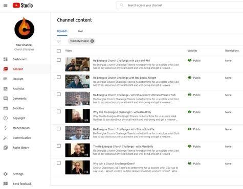 Church Challenge LIVE YouTube